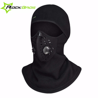 ROCKBROS Winter Thermal Cycling Hat Fleece Bicycle Face Mask 3 Styles Windproof Training Mask Bike Scarfs