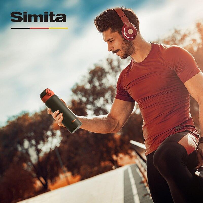Simita 500ml Thermos Termo Tea Coffee Vacuum Flask Thermo Mug Stainless Steel Car Sport Insulated Heat Thermal Metal Bottle Tea
