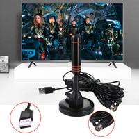 אנטנה עבור 22dB רווח גבוה אנטנה טלוויזיה עבור DVB-T טלוויזיה / USB TV Tuner Portable פנימי / חיצוני / רכב HD Digital TV אנטנות חם 1pcs מכירה (2)