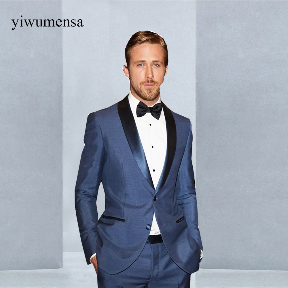 yiwumensa latest fashionwedding suit for men Custom made The male ...