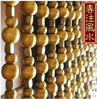 size 1 m in length, 1.5 m in width every 3 cm free shipping Arbitraging quality solid wood full gourd bead curtain lucky baby