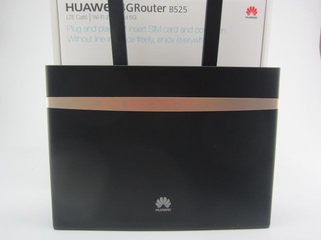 Huawei B525s-23a 4G LTE Cat6 Wireless Router plus 2pcs antenna black color