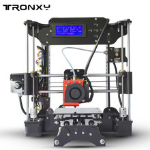 Tronxy 2017 High Quality Desktop 3D Professional Printer Precision Cheap DIY Kit Support English Russian Spanish For Laptop PC