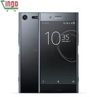 Sony Xperia XZ פרימיום G8141 4 גרם 4 גרם LTE הנייד הטלפון RAM 64 גרם ROM יחיד Sim 19MP תשלום מהיר 3.0 אוקטה Core NFC 3230 mAh אנדרואיד