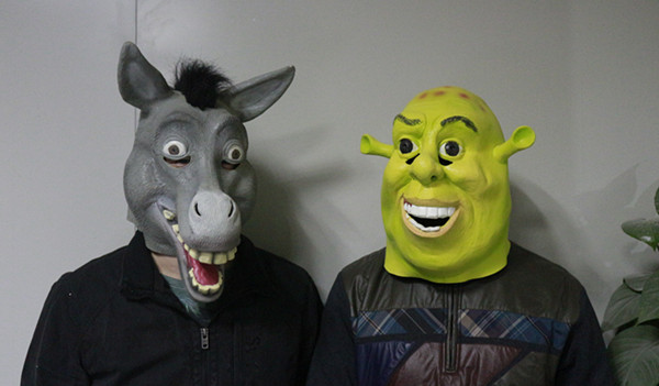 Animal Donkey Costume Mask Latex Donkey Head Mask-in Party Masks from Home u0026 Garden on Aliexpress.com | Alibaba Group & Animal Donkey Costume Mask Latex Donkey Head Mask-in Party Masks ...