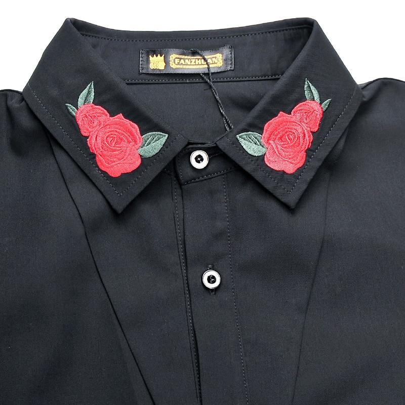 Gratis frakt Ny mode avslappnad mäns personlighet manlig koreansk - Herrkläder - Foto 4