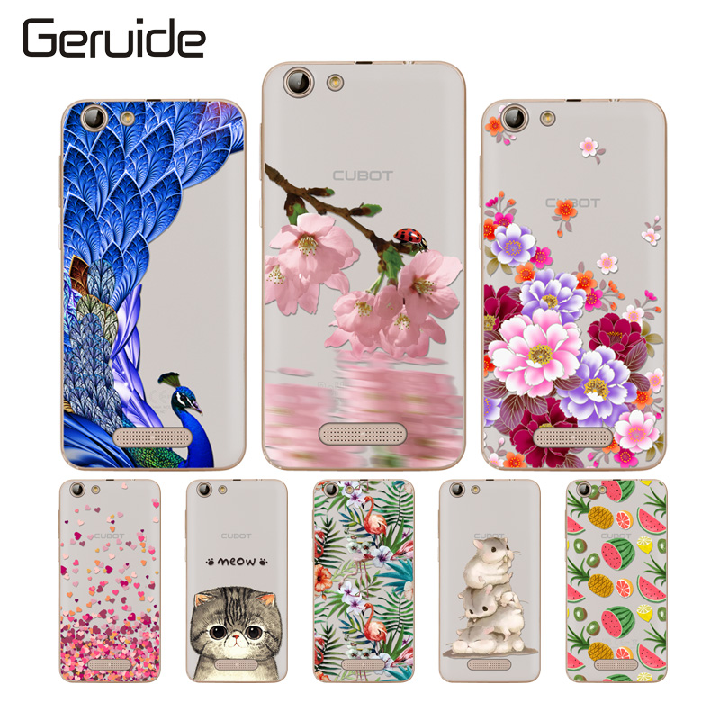 For Cubot Note S / Dinosaur 5.5 Case Cover, New Fashion Soft TPU Silicone Back Covers NoteS Phone Cases
