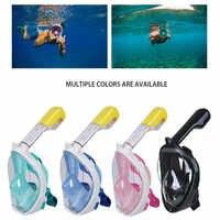 Маска для дайвинга, подводная противотуманная маска для подводного плавания, маска для подводного плавания, для женщин и мужчин, для детей, ...