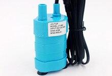 Dc 12v 24v 600/1000l/h bomba de água bomba de óleo submersível brushless motor solar fonte bomba de lavagem de carro elevador alto