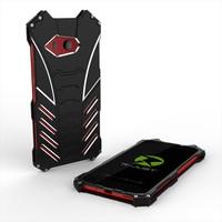 Phone Case For HTC U11 5 5 Luxury Metal Aluminum Rugged Bumper Back Cover Armor Black