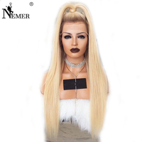 Brazilian Virgin Human Hair Ombre T4/27 Lace Front Wigs Bleached Knots Nemer 150Density 13x6 Lace Front Hair with Baby Hair