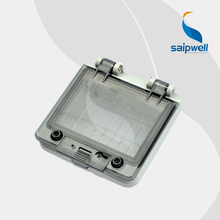 93.2*91.5*43mm  IP67 Transparent Contact Protection Window Hood  (PWH-0404)