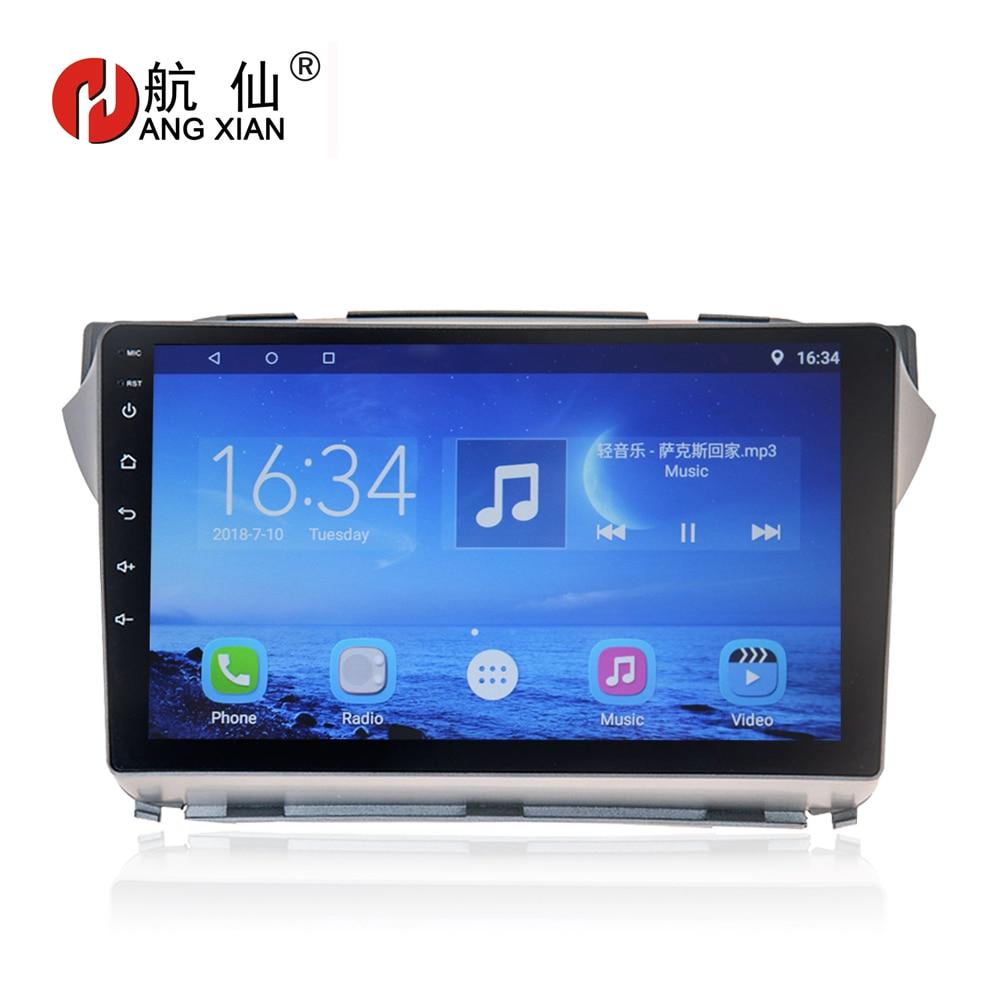 HANG XIAN 9 Car radio for Suzuki Alto 2009 Quadcore Android 7.0.1 car dvd player gps navi with 1 G RAM,16G ROM,Steering wheel