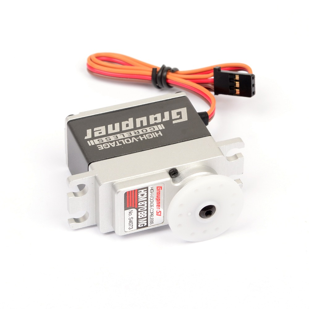 купить Graupner HCM 870 BBMG Torque 20mm HV CL Digital Servo HV - High Torque for RC Helicopter Airplane free shipping недорого