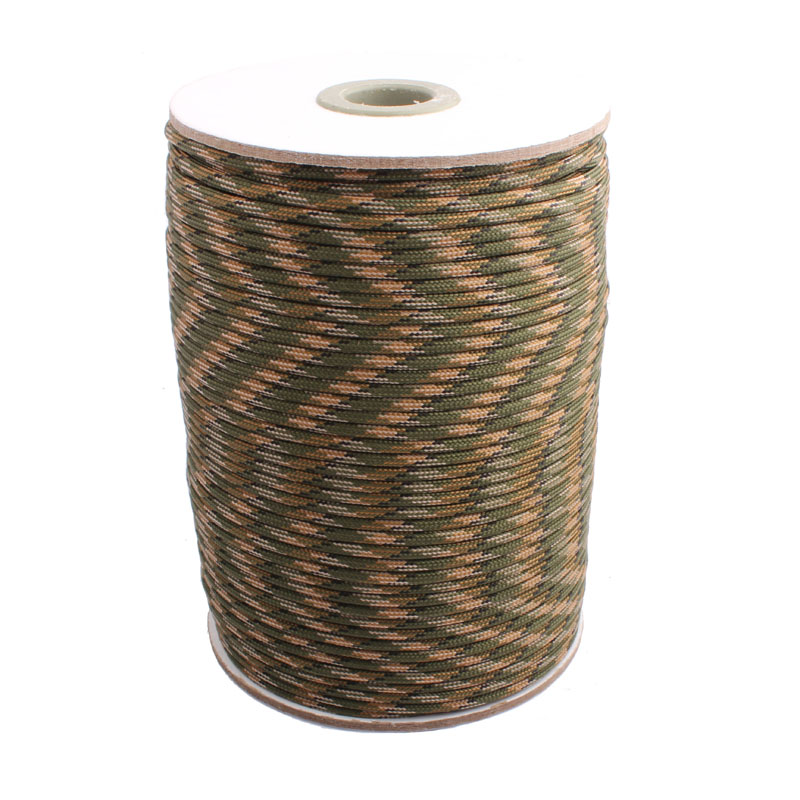 KUKUNIU 1000FT 4mm 550 Paracord Parachute Cordon Type III 7 Strand Parachute Cordon Corde Survie kit Gros
