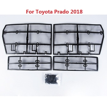 4PCS Grille Insect Screening Mesh Front Grille For Toyota Land Cruiser Prado 2018 FJ 150