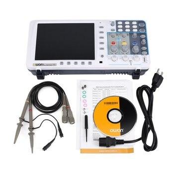 8 Inch Digital Oscilloscope Double Channel Deep Memory Lcd Display Storage Oscilloscope Scopemeter Scope Meter 200Mhz 1Gsa/S фото