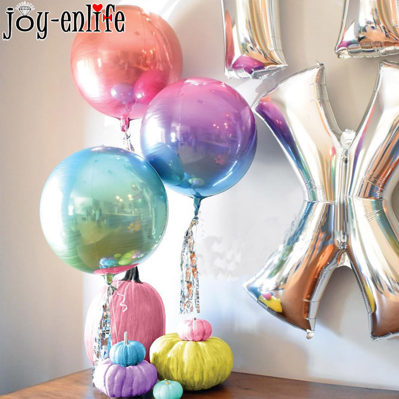 """Gradient Foil Number Balloons Air Helium Birthday Party Wedding 30"""" No 1"""