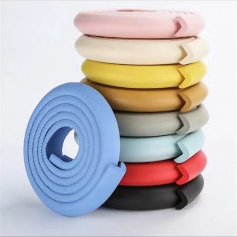 2M Children Protection Table Guard Strip Baby Safety Products Glass Edge Furniture Horror Crash Bar Corner Protection