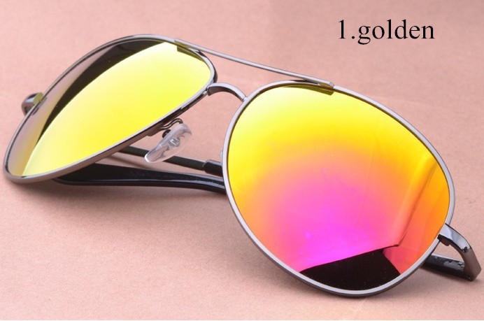 5 colors Classic brand designer polarized sunglasses men fashion alloy sun glasses driving holiday beach eyewear