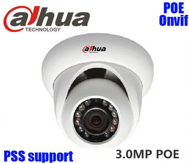 3MP1080P HD 1/3'' CMOS Sensor Dahua DH-IPC-HDW1320S ONVIF H.264 Dome IP Camera Replacement IPC-HDW4300S IP Camera