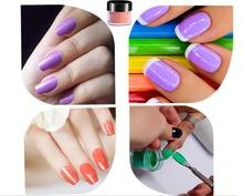 7156ST Бесплатная доставка Дизайн ногтей бесплатный образец 2 в 1 цветная акриловая пудра