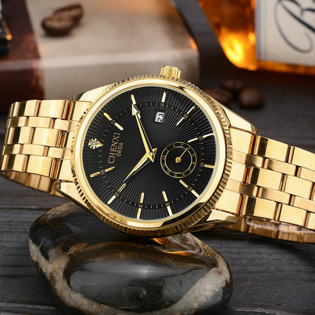 quartz fashion subaqua watch s brand woman product wristwatch luxury men inv masculino golden relogios watches