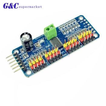 16 Channel 12-bit PWM/Servo Driver-I2C interface PCA9685 module for arduino or Raspberry pi shield module servo shield maker studio i2c lcd shield red
