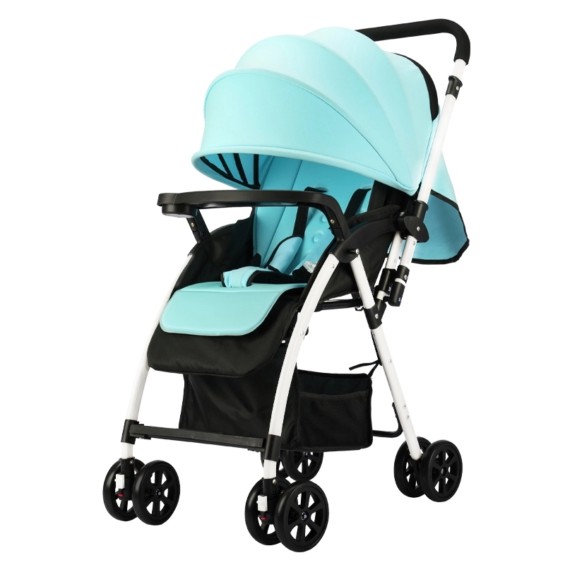 Travel Lightweight Baby Stroller Portable Folding Prams for Newborns Lying and Sitting Umbrella Pushchair For 0~36 M 4 Colors folding baby stroller lightweight baby prams for newborns high landscape portable baby carriage sitting lying 2 in 1