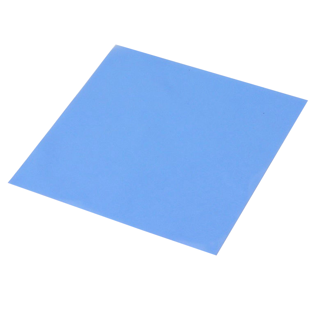 100mm x 100mm x 0.5mm GPU CPU Heatsink Cooling Thermal Conductive Silicone Pad 9pcs 30x30x2mm thermal pad gpu cpu heatsink cooling conductive silicone pad sheets for motherboard computer host notebook