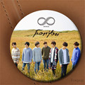 Youpop KPOP Korean INFINITE Album For You Metal 58mm Round Badge Pins And Brooches For Clothes Hat Backpack