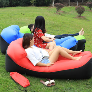 Sofa Chair-Cover Beanbag-Bed Lounger Couch Puff Lazy-Bag Inflatable-Bean-Bag Pouf Camping