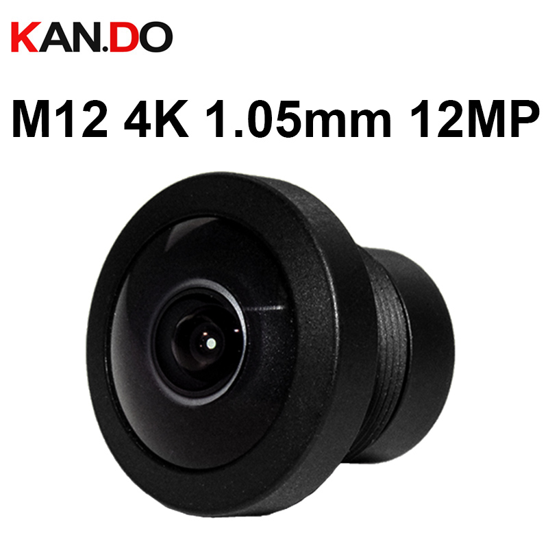 4K 12.0Megapixel Lens 1.05mm Lens Ultra Wide Fisheye Lens Aerial photograph Face Recognition Drones FPV Camera Lens