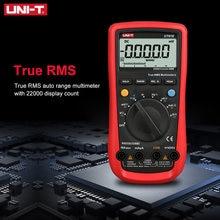 Multímetro Digital UNI-T UT61E de alta confiabilidad, conexión de PC, voltaje CA CC, modo relativa, retención de datos de 22000 recuentos
