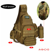 Hunting Backpack Hiking Camping Waterproof Men's Military Tactical Backpack Outdoor Men Molle Army Shoulder Sports Bag For Male