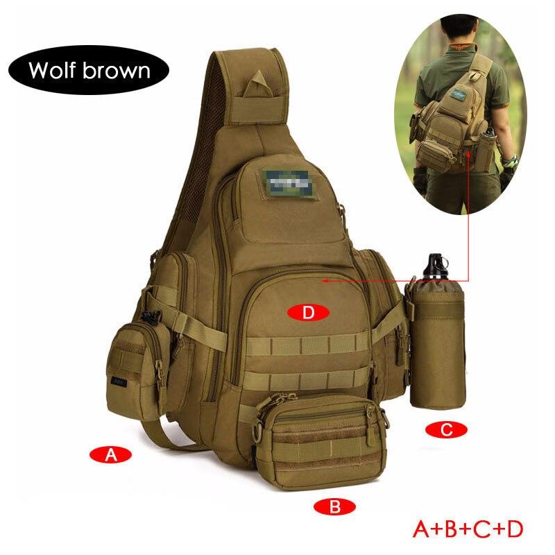 Sac à dos de chasse randonnée Camping étanche hommes militaire tactique sac à dos en plein air hommes Molle armée épaule sac de sport pour homme