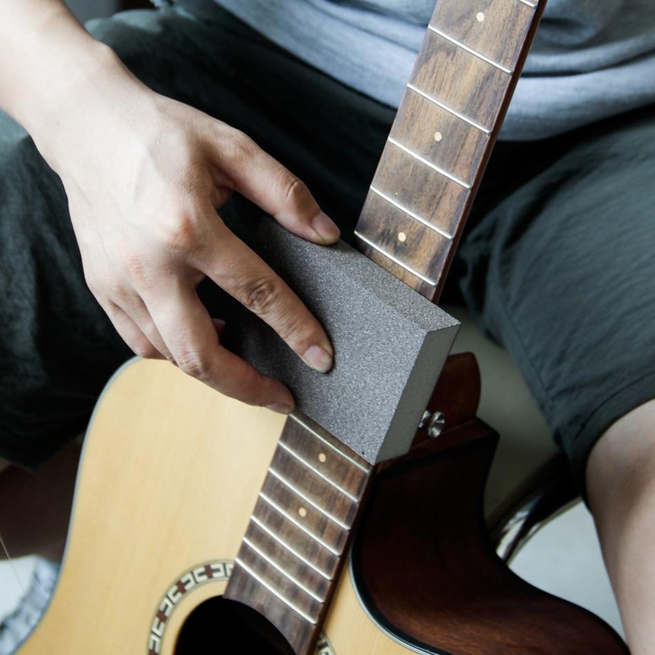 Herramientas profesionales de guitarra MUKU / Lima de acero - Instrumentos musicales - foto 4