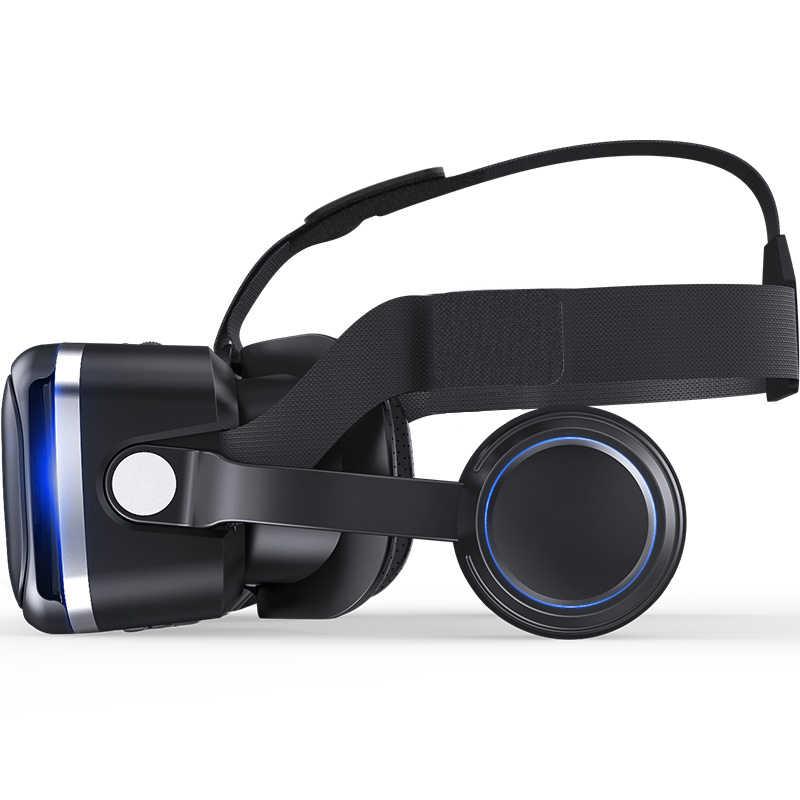 Оригинальная VR shinecon 6,0 стандартная версия и гарнитура Версия Очки виртуальной реальности 3D гарнитура для очков виртуальной реальности шлемы смартфон