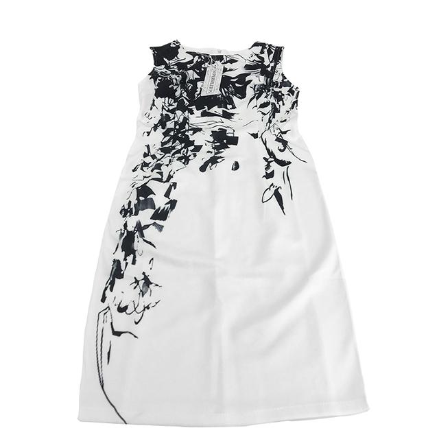 Pencil Vestidos O-Neck Sleeveless Dress