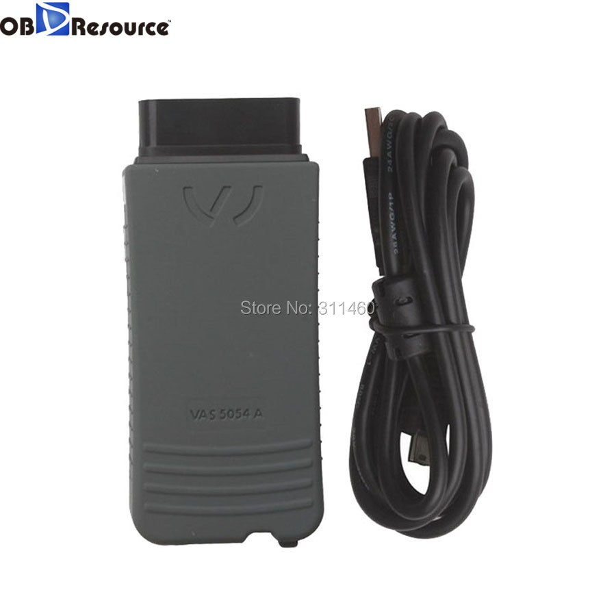 OBDResource VAS 5054A ODIS V3.0.3 Bluetooth function with OKI chip auto diagnostic scanner code reader For VAG vehicles repair multi language professional diagnostic scanner same function as tcs cdp plus scanner multidiag pro tf card bluetooth v2015 3