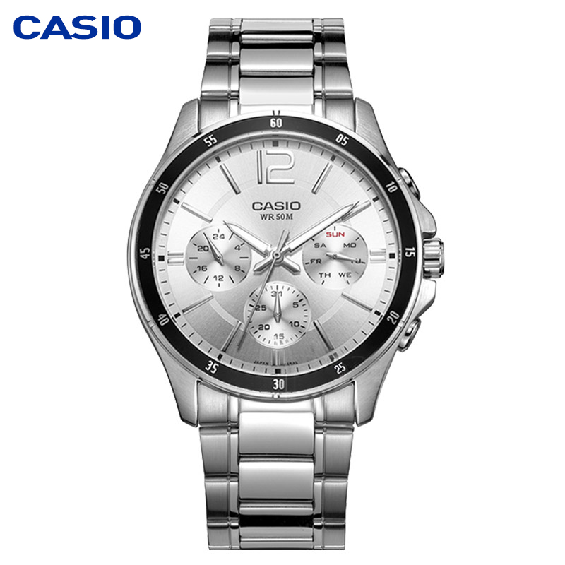 Casio watch men s watch pointer series multi function chronograph business casual watch men s watch