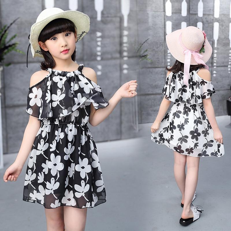 3c9c7728e91 Εφηβικά φορέματα κορίτσι το καλοκαίρι 2018 Παιδική ενδυμασία Παιδικό φόρεμα  ...