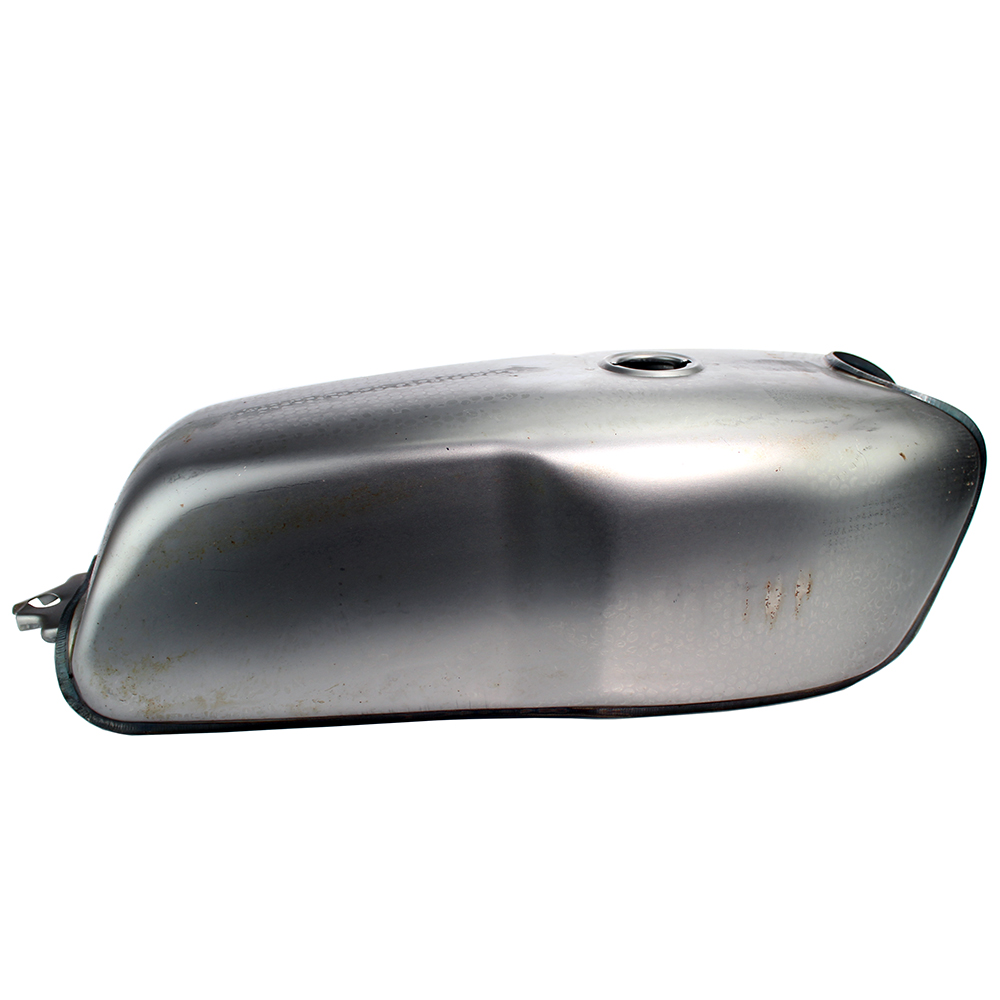 Universal 9L Vintage Cafe Racer Motorcycle Fuel Tank Bare Steel with Thick Iron Cap Switch For YAMAHA RD50 RD350 Honda CG125Universal 9L Vintage Cafe Racer Motorcycle Fuel Tank Bare Steel with Thick Iron Cap Switch For YAMAHA RD50 RD350 Honda CG125