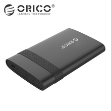 ORICO HDD Enclosure 2.5 Inch Hard Drive Disk Box 5 Gbps Type-c HDD Case Caddy Tool Free for 2.5″ HDD SSD Support 2TB
