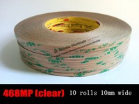 10x 10mm 55M 3M 468Mp 200mp Adhesive Double Sided Adhesive Tape For Metal Nameplate Plastic LCD