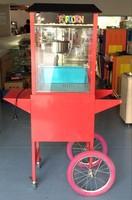 Luxo máquina de pipoca Comercial máquina de pipoca automático Acessórios do carro pode ser personalizado