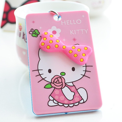 Aliexpress buy 5 pcslot kawaii 3d cartoon hello kitty aliexpress buy 5 pcslot kawaii 3d cartoon hello kitty doraemon business card holder office name work card holders from reliable card holder reheart