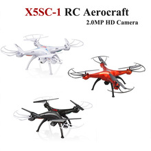 New  X5SC-1 RC Drone Helicopter with 2 MP HD Camera Headless 6-Axis 360 Graden Eversie X5SC Upgraded version rc Quadcopter