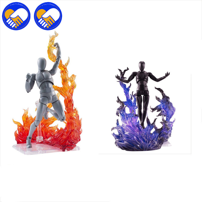 Multi-color Tamashii For Star Soul Effect Burning Flame Fix Impact Action Toys Figure Scenes Accessorie