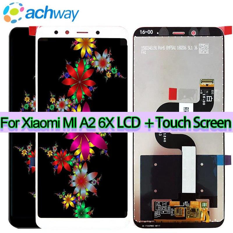 Original 5.99 Xiaomi Mi A2 LCD Display with Tool Screen Touch Panel Xiaomi Mi 6X Screen LCD Display Digitizer Repair Spare PartsOriginal 5.99 Xiaomi Mi A2 LCD Display with Tool Screen Touch Panel Xiaomi Mi 6X Screen LCD Display Digitizer Repair Spare Parts